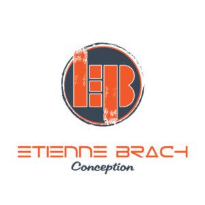 Logo et typo pour l'agenceur menuisier EB CONCEPTION