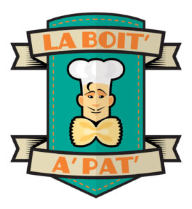 Essai logo pour LA BOITE A PAT