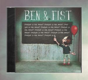 Mockup du CD de BEN & FIST